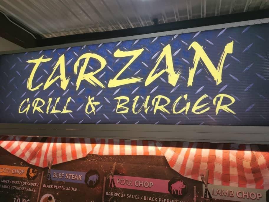 Tarzan Grill & Burger @ 7夜cafe  image