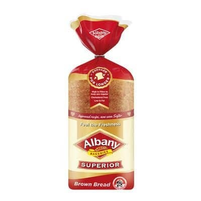 ALBANY BREAD BROWN SLICED image