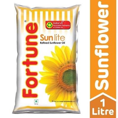 Fortune Refined Sunflower Oil - 1 ltr image