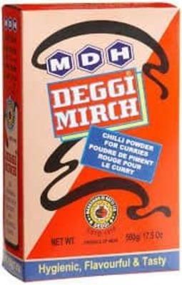 Mdh degghi mirch powder-500 gm image