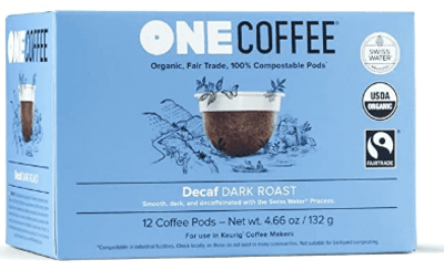 Onecoffee Pods Decaf Org 12'S image