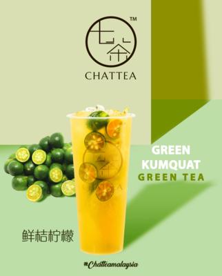 Green Kumquat Green Tea image