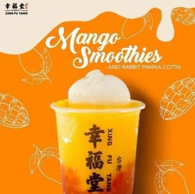Mango Smoothie and Rabbit Panna Cotta image