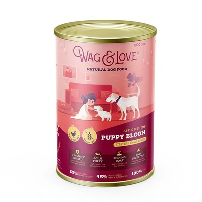 APPLE & THYME PUPPY BLOOM(STARTER & SMALL BREEDS)- 0.8 Kg Pack image