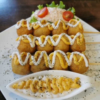 Cheesy Fish Ball image