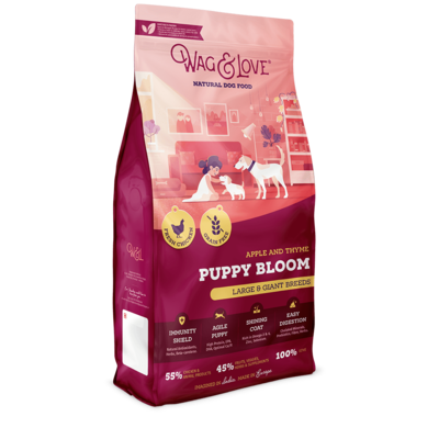 APPLE & THYME PUPPY BLOOM(LARGE & GIANT BREEDS)-12 Kgs Pack image