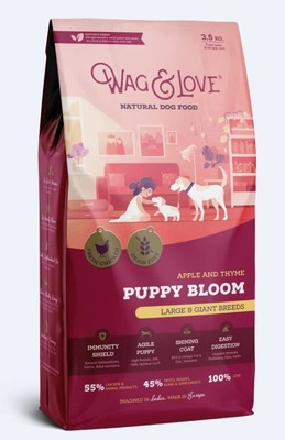 APPLE & THYME PUPPY BLOOM(LARGE & GIANT BREEDS)-3.5 Kgs Pack image