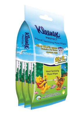 Kleenex Hand Sanitizing Wipes Disney 10s x 3 x 20 (case) image