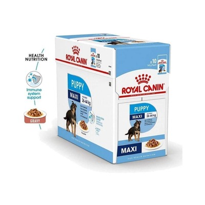 Royal Canin Maxi Puppy Dog Wet Food - 140 gms image