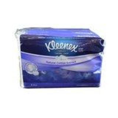 Kleenex Soft Pack Floral 3 Ply 4 x 50s image