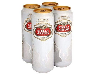 Stella Artois 4 X 568ml image