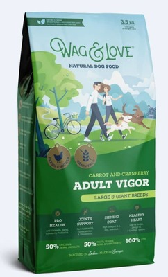 CARROT & CRANBERRY ADULT VIGOR(LARGE & GIANT BREEDS)-3.5 Kgs Pack image