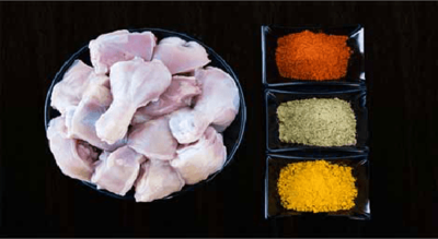 Chicken Curry cut without skin image