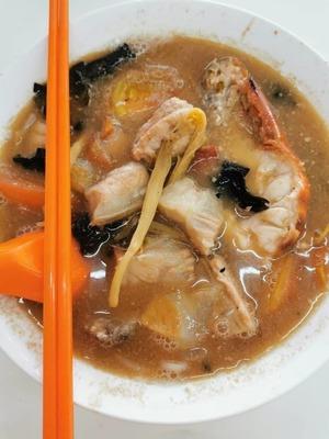 鱼+虾面 image
