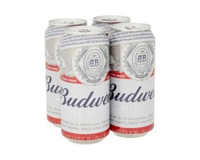 Budweiser 4 X 440ml image