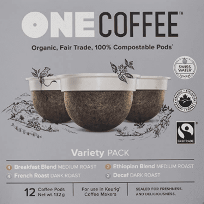 Onecoffee Pods Variety Pack Org 12'S image