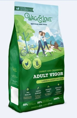 CARROT & CRANBERRY ADULT VIGOR(LARGE & GIANT BREEDS)-12 Kgs Pack image