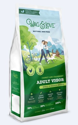 CARROT & CRANBERRY ADULT VIGOR(SMALL & MEDIUM BREEDS)-7 Kgs Pack image