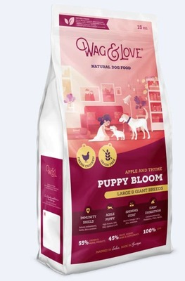 APPLE & THYME PUPPY BLOOM(LARGE & GIANT BREEDS)-15 Kgs Pack image
