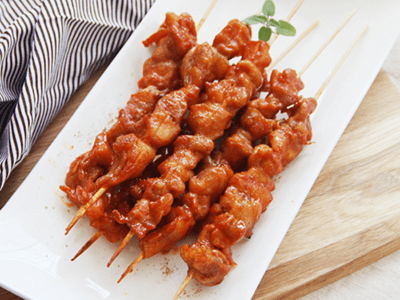 Chicken Satay 6 PCS image
